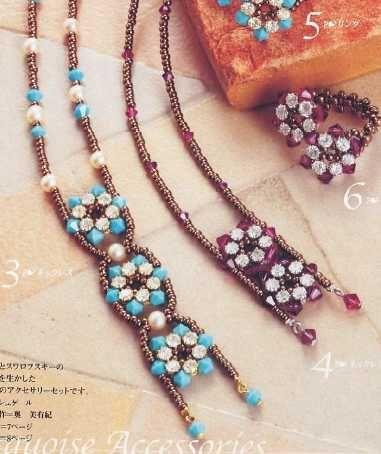 dd7e3b5855e0 jap beads acc p6   collares   Abalorios, Pulseras, Bisuteria y ...
