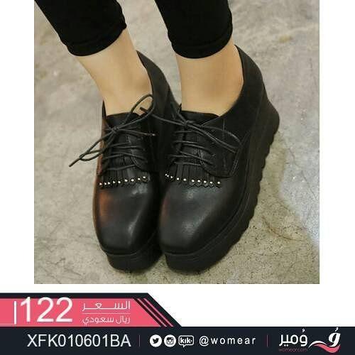 حذاء شيك تكتمل به اطلالتك العصرية احذية جذابه شوزات جزم نسائية جزمات بنات دوام ستايل جامعة Doc Martens Oxfords Womens Oxfords Oxford Shoes
