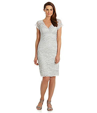 Marina Beaded Lace Dress