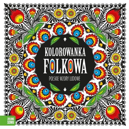 coloring book of polish folk designs