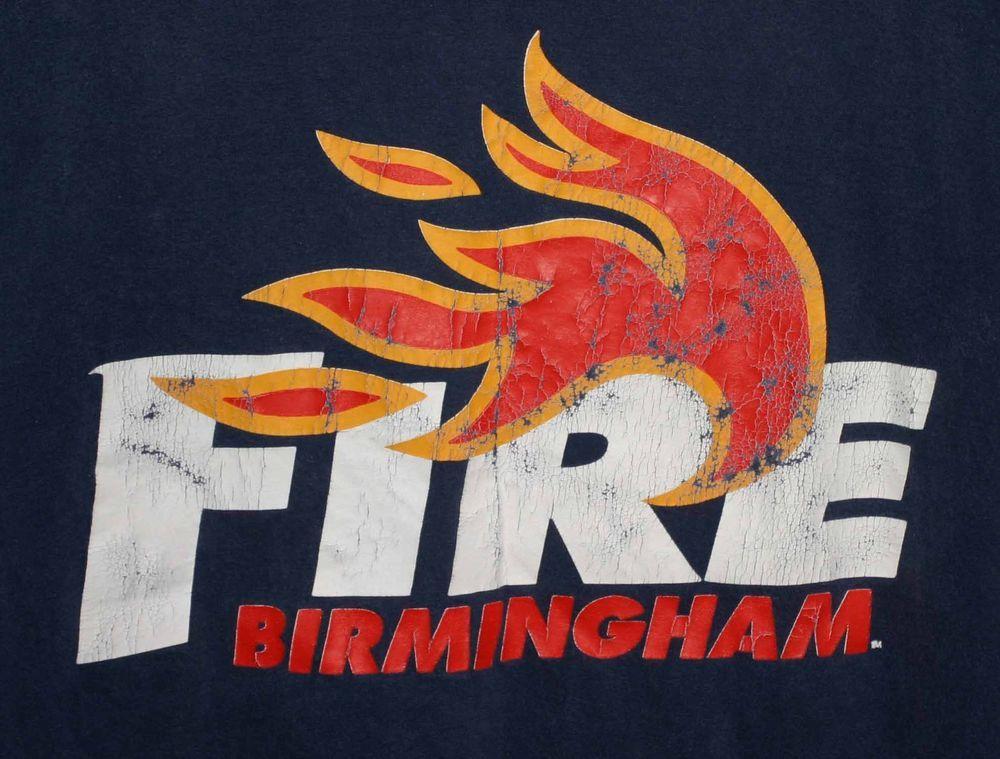 "BIRMINGHAM FIRE DEPARTMENT ""BIG BLAZE"" TSHIRT Adult XL"