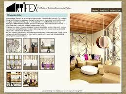 student interior decorating portfolio design