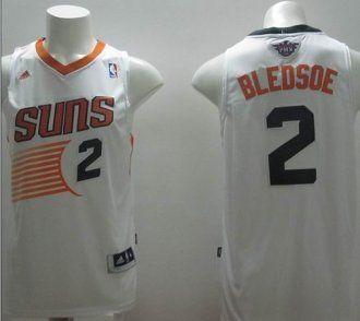 bbe9336e3 Revolution 30 Phoenix Suns  2 Eric Bledsoe White Stitched NBA Jersey ...