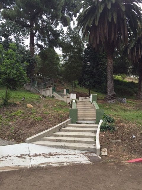 Staircase Behind The Hollywood Heritage Museum In Whitley Heights. (Secret  Stairs Walk #36)