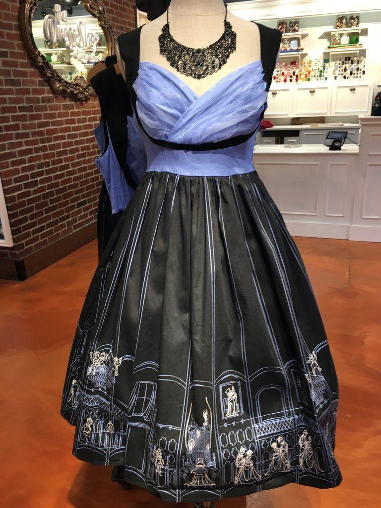 XL NEW Disney Parks Dress Shop Haunted Mansion Ballroom Scene Dress XL