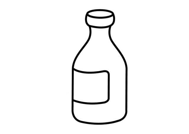 Medicine Bottle Coloring Pages Bottle Medicine Bottles Water Bottle