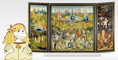 Audiogu as del museo del prado para ni os el jard n de for Bosco el jardin de las delicias