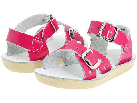 1e9ca61f849e Salt Water Sandal by Hoy Shoes Sun-San - Sweetheart (Infant Toddler Youth)  Shiny Fuchsia - Zappos.com Free Shipping BOTH Ways