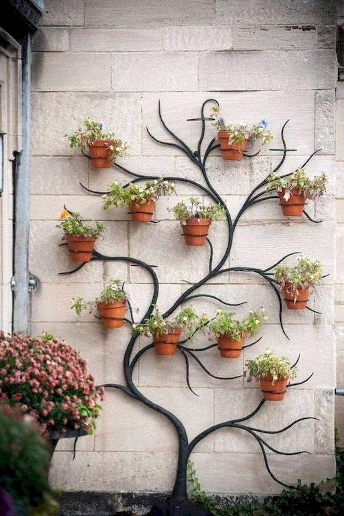 Awesome Spring Garden Decoration Ideas For Backyard Front Yard Vertical Garden Diy