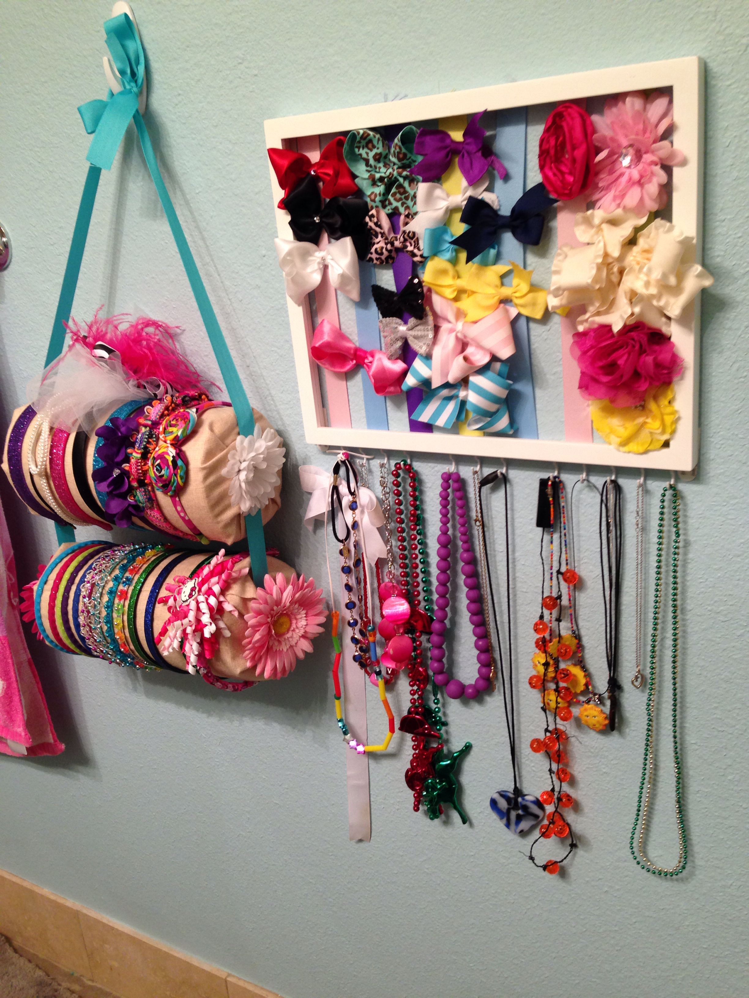 Organizing little girls accessories. | For noonie | Hair ...