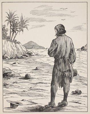Robinson Crusoe written by Daniel