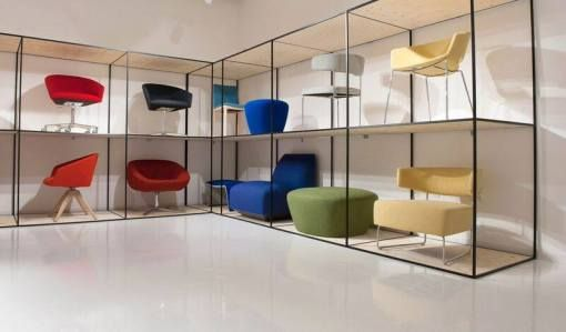 Chair showroom google search furniture pinterest for Showroom zanotta milano