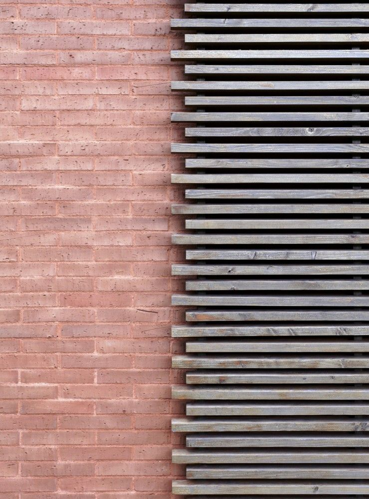 Gallery of house in the alberes inca architectes 3 - Brick and wood house ...