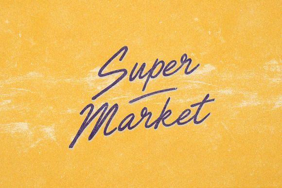 Super Market by BLKBK on @creativemarket