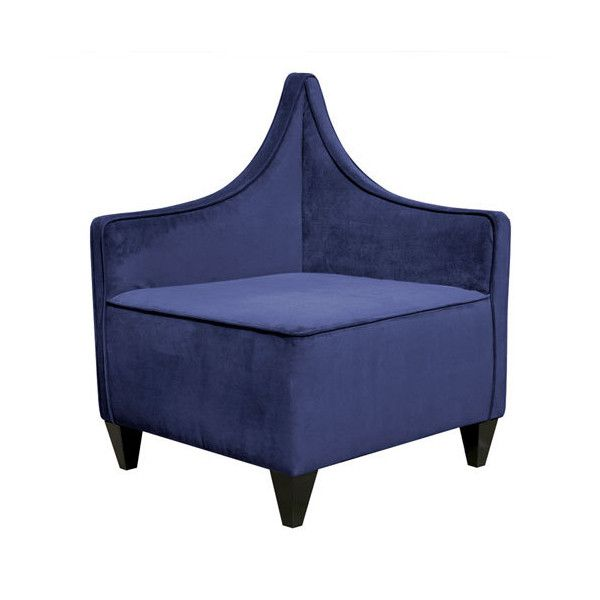 Manhattan Bella Royal Corner Chair 649 Liked On Polyvore Featuring Home Furniture Chairs Accent Chairs Furniture Corner Chair Upholstered Accent Chairs