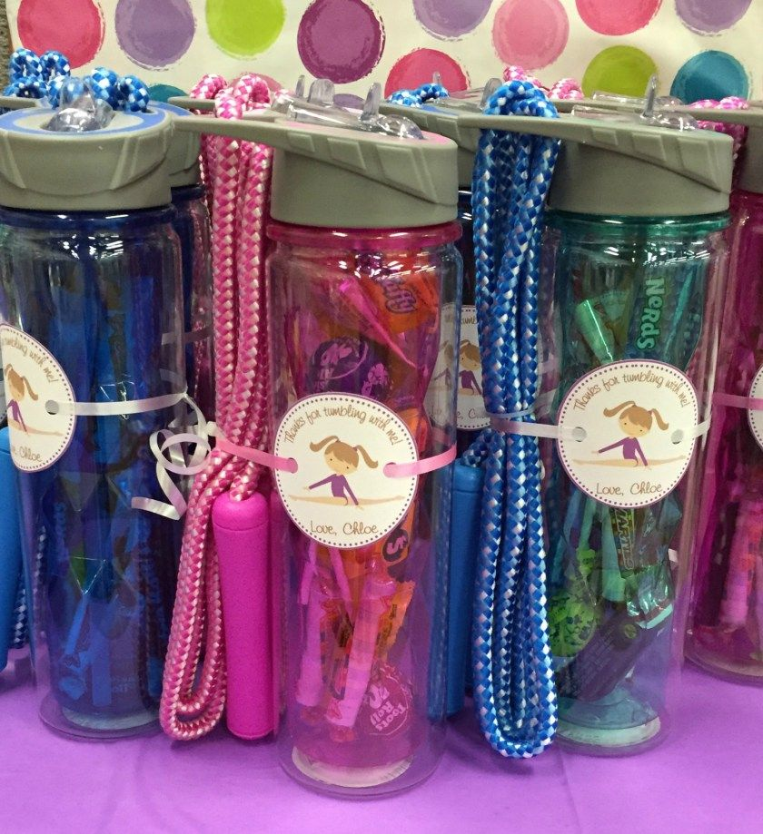8 Spa Party Plastic Loot Bags Fill w// Favors Accessories Treats Candy Birthday