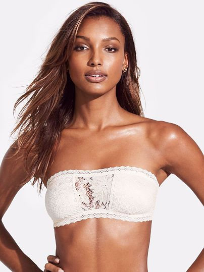 e2c8f13c8c52e Lace-inset Bandeau Bralette | i want this in my closet | Jasmine ...