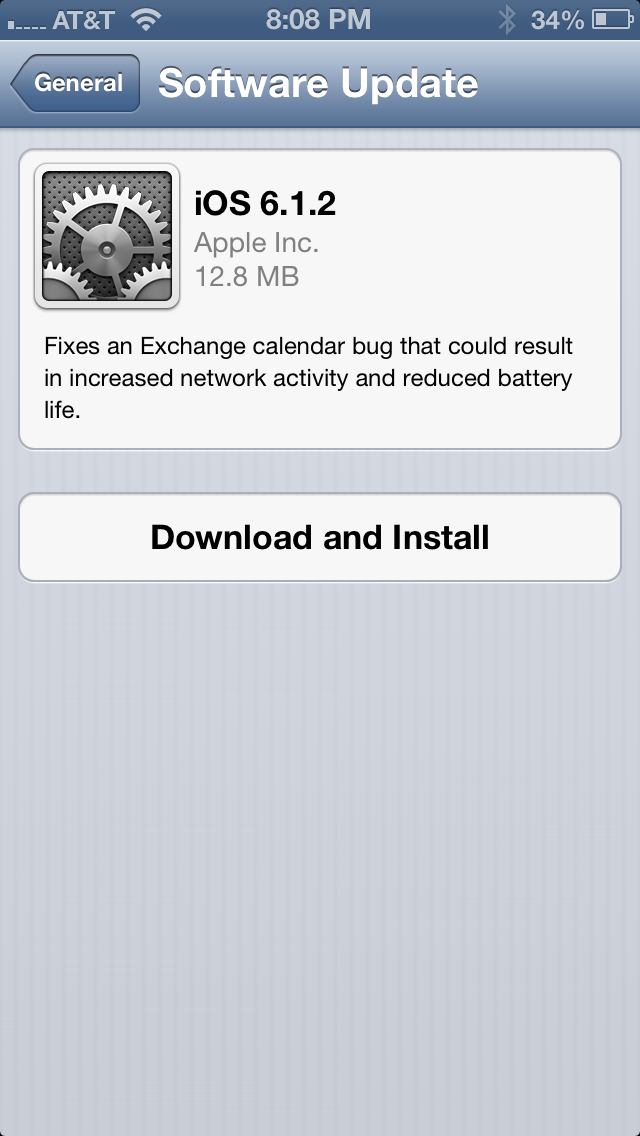 Apple Releases iOS 6 1 2 to Fix Wifi, Battery Drain Issues