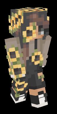 aesthetic minecraft logo yellow
