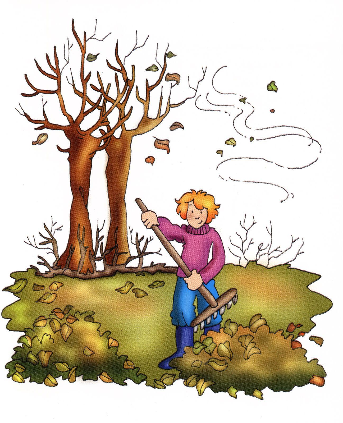 Posters de las estaciones del a o dibujos de for Arboles de hoja perenne para clima frio
