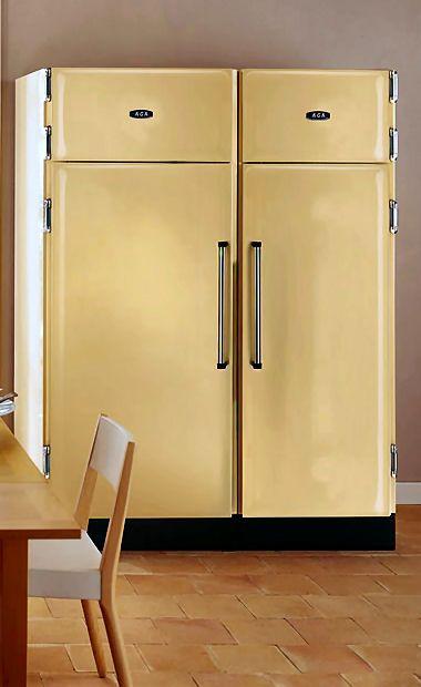 Aga Pantry Refrigerator Freezer Not Yellow