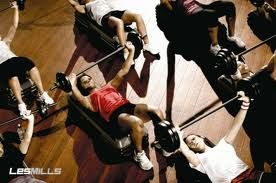 body pump class..i miss this a lot!