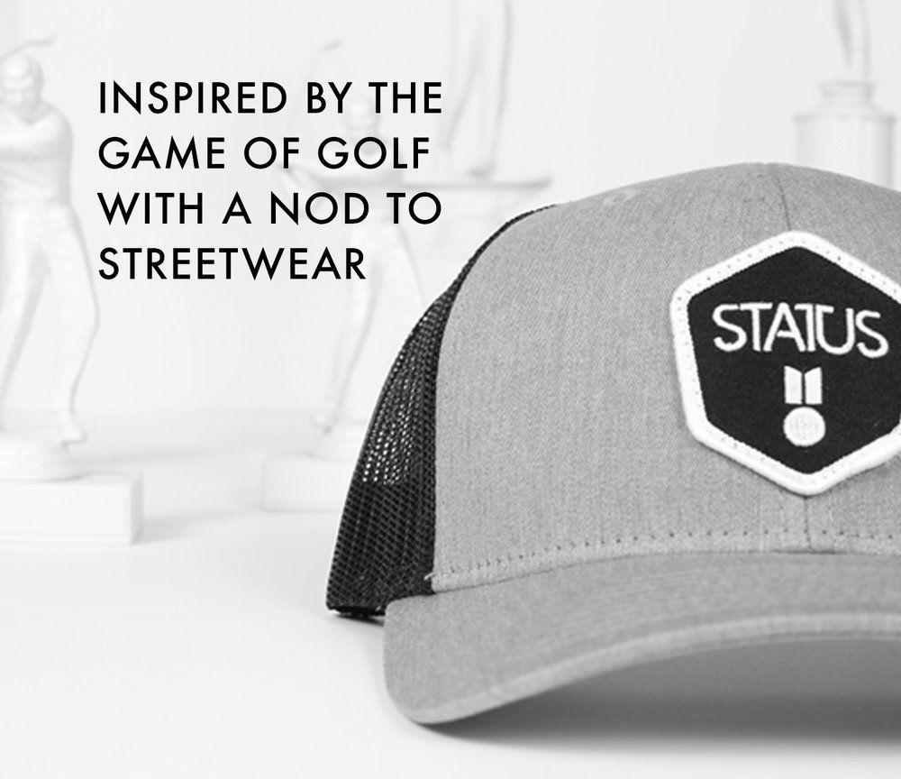 b958cbe28 Golf hat | Status hat | golf style | hats | lids | golf gift ...