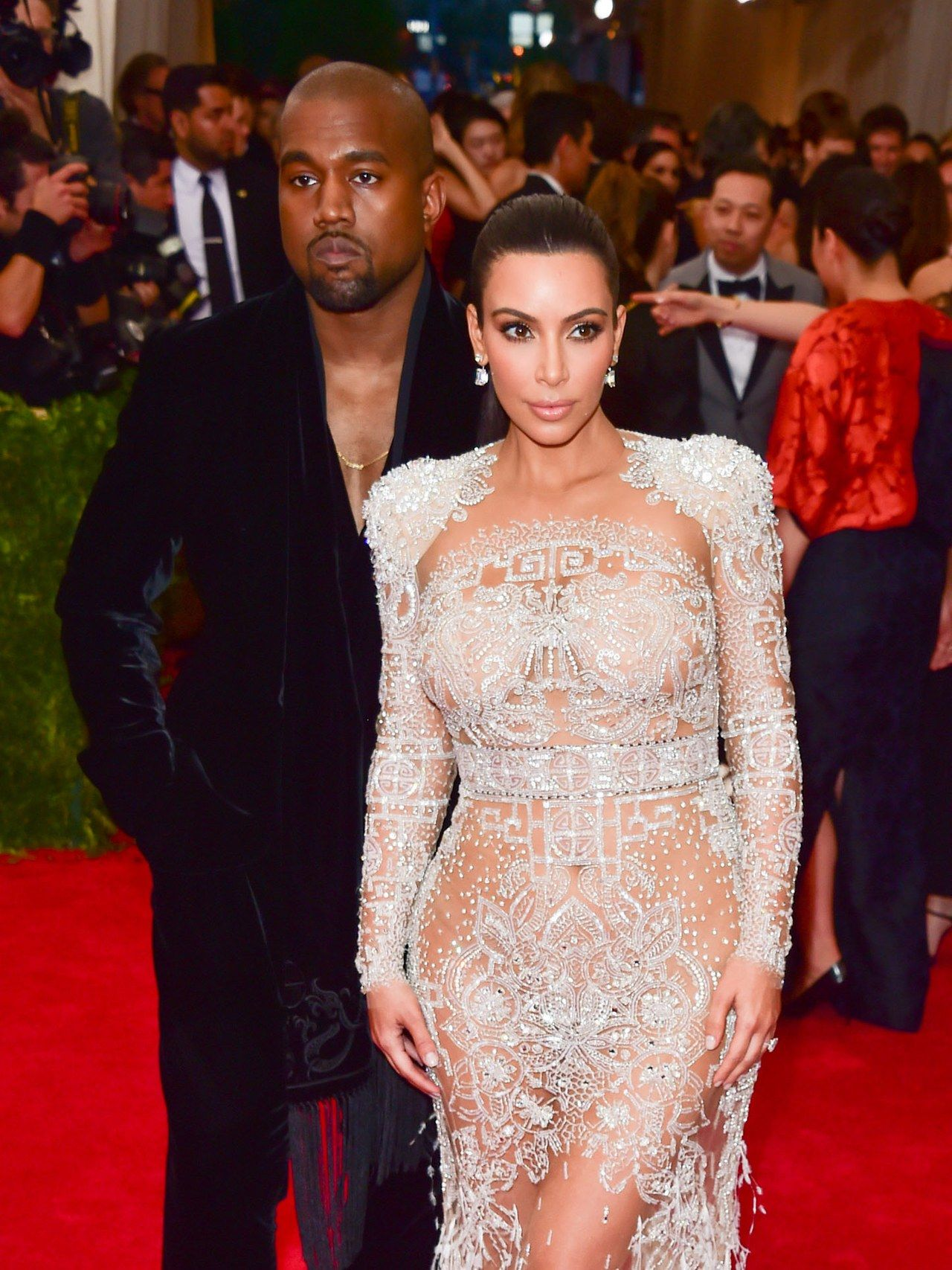 The 25 Best Met Gala Beauty Looks Of All Time Met Gala Met Gala Looks Kim And Kanye