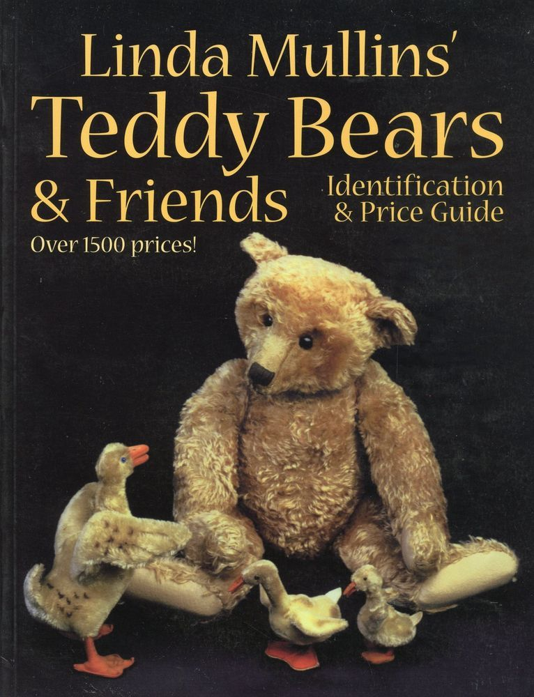 Antique Vintage Teddy Bears Animals - Types Makers / In-Depth Book + ...