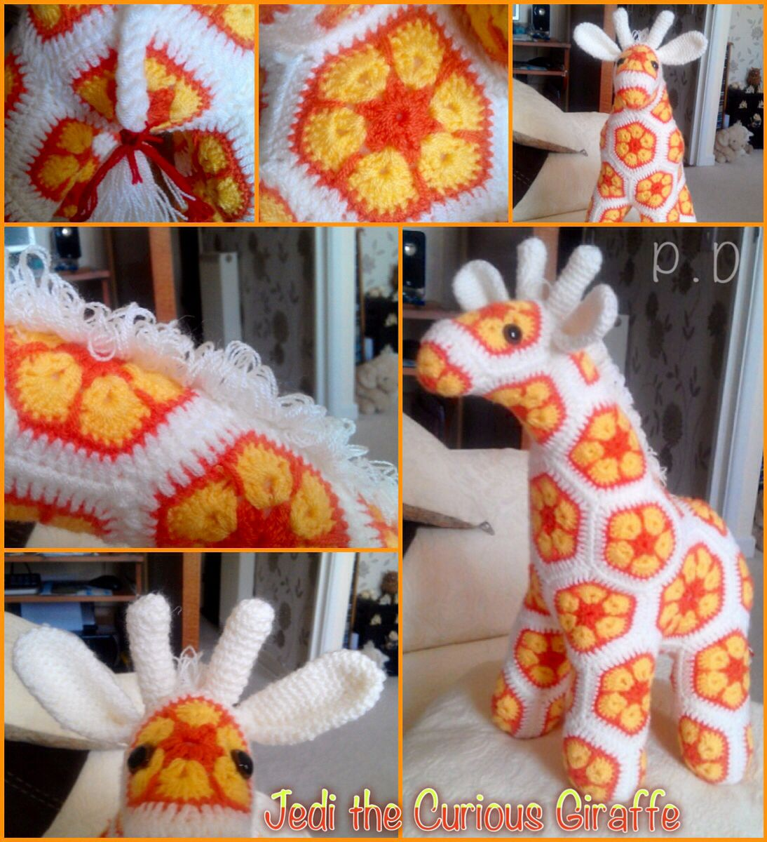 Jedi the curious Giraffe Pattern by : Heidi Bears, ( available at ...