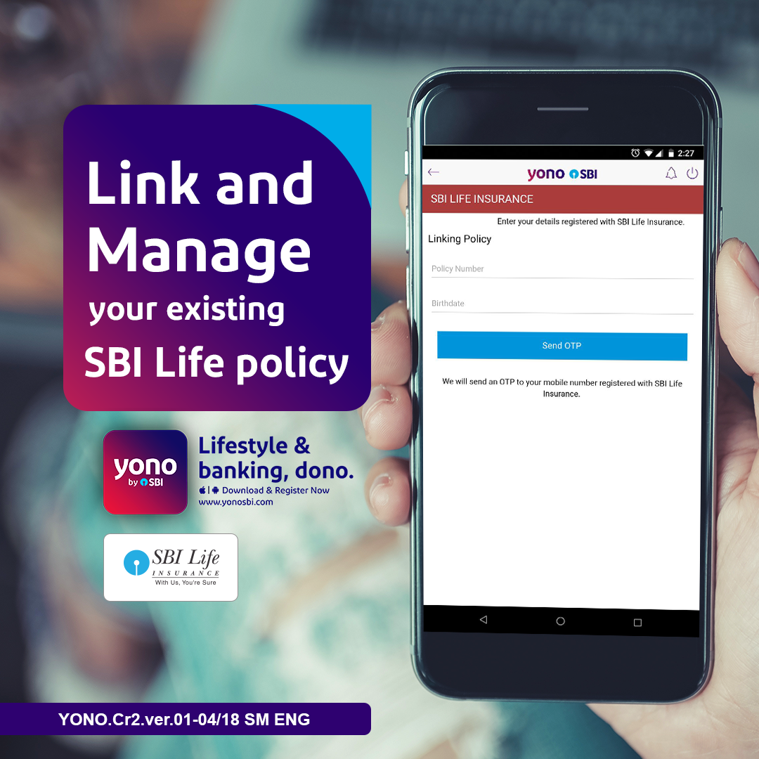 Link your existing SBI Life policy in just 3 clicks to ...