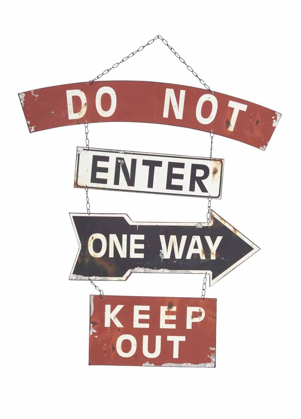 Do Not Enter Sign 57x72cm Red Do Not Enter Sign Signs Branding Design
