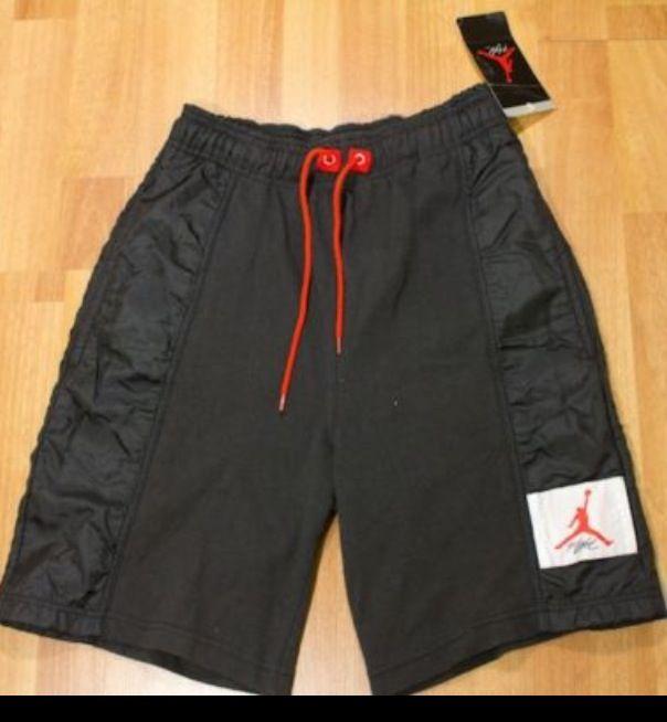 Aj 4 Black Colour Range Warm Up Shorts 1989 Air Jordan