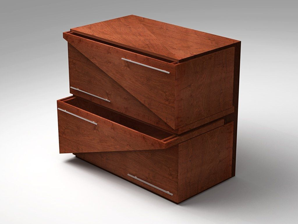 Triangle Dresser Drawers