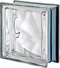 Brique de verre incolore finition m tallis e mod le - Montage brique de verre exterieur ...