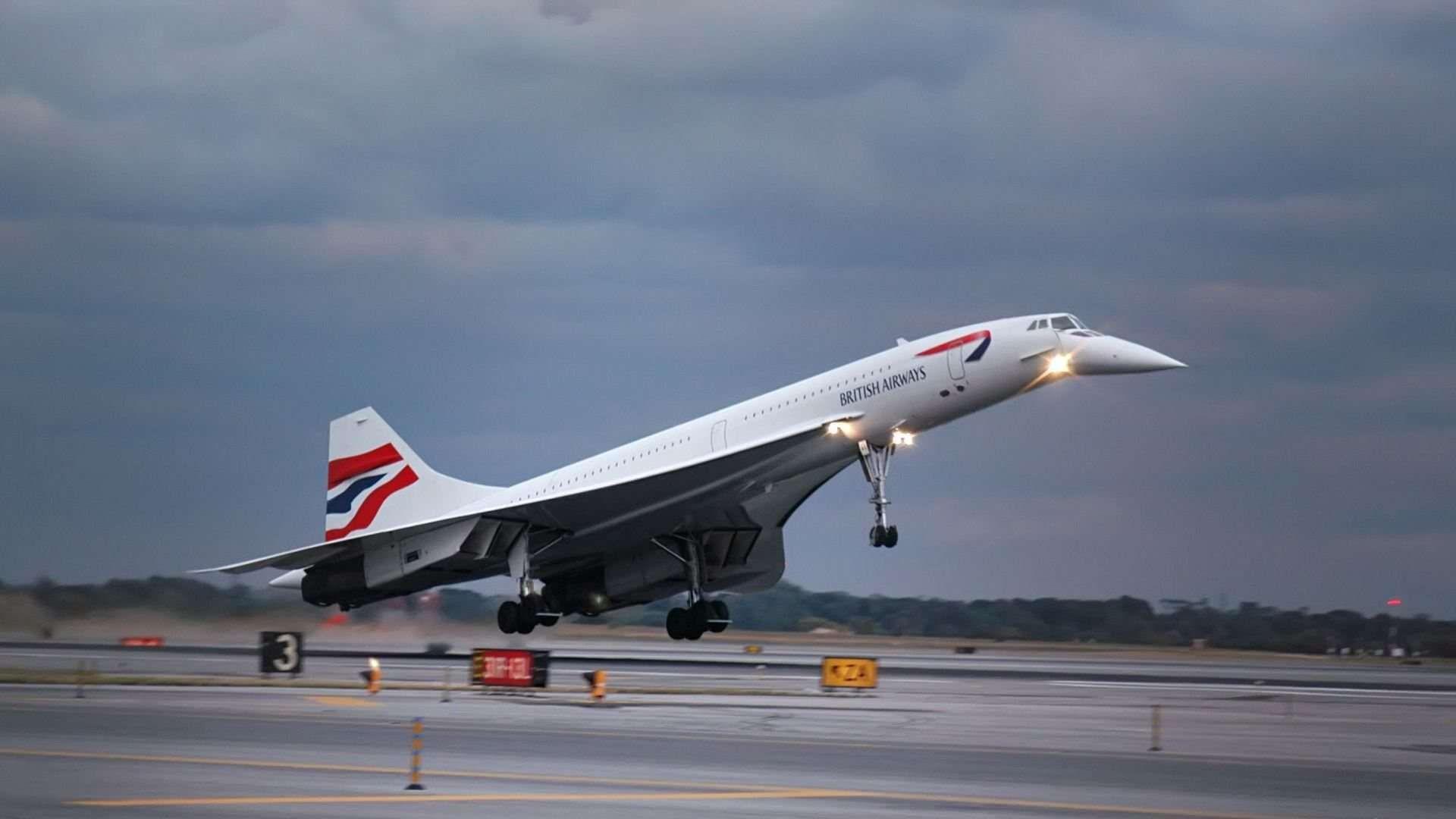 Concorde Last Flight Wallpapers HD