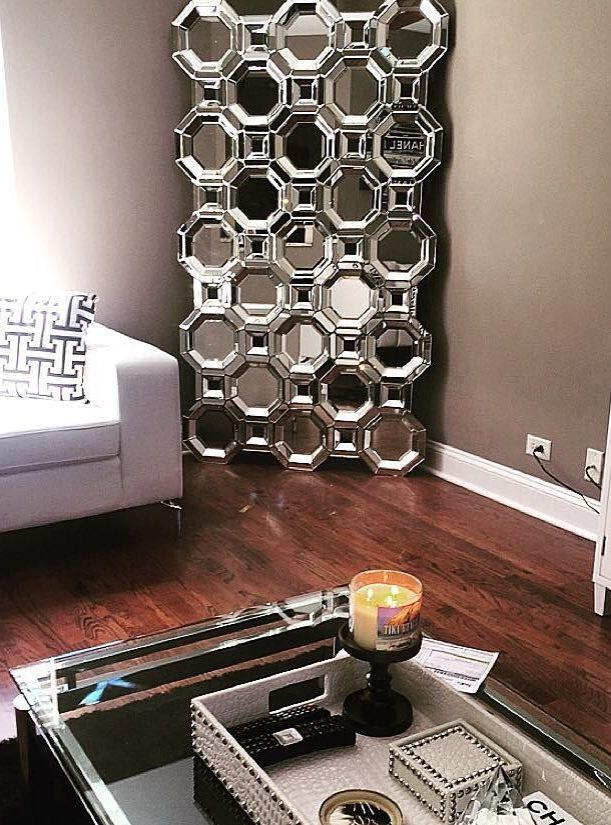 Gianaallthat Showcased Her Recent Zgallerie Mirror Purchase Our Axis Floor And We Re In Love