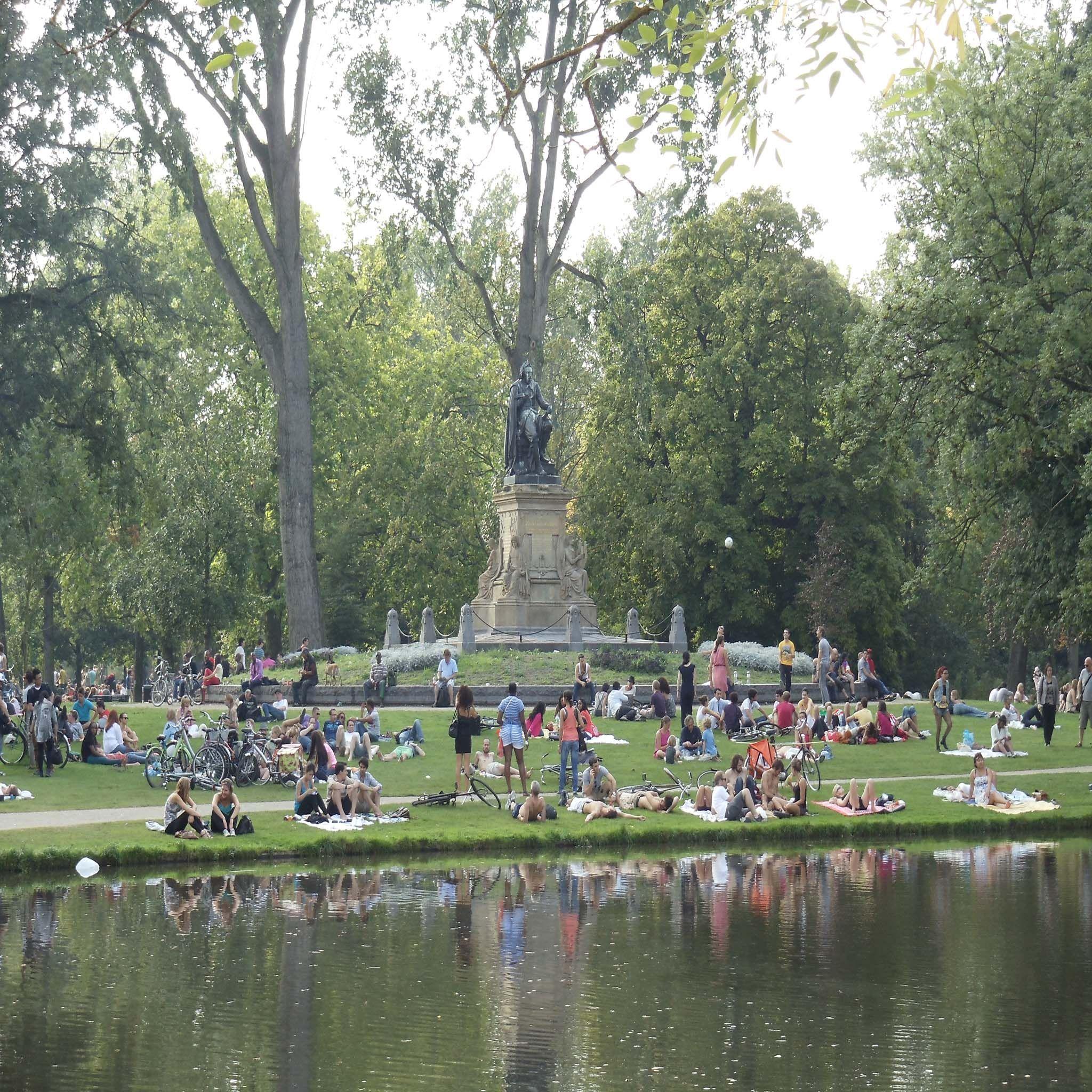 Amsterdã - Parque Vondel