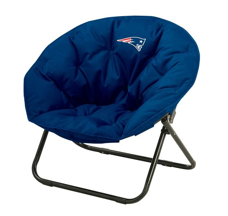 NFL New England Patriots Team Logo Dish Sphere Chair ...
