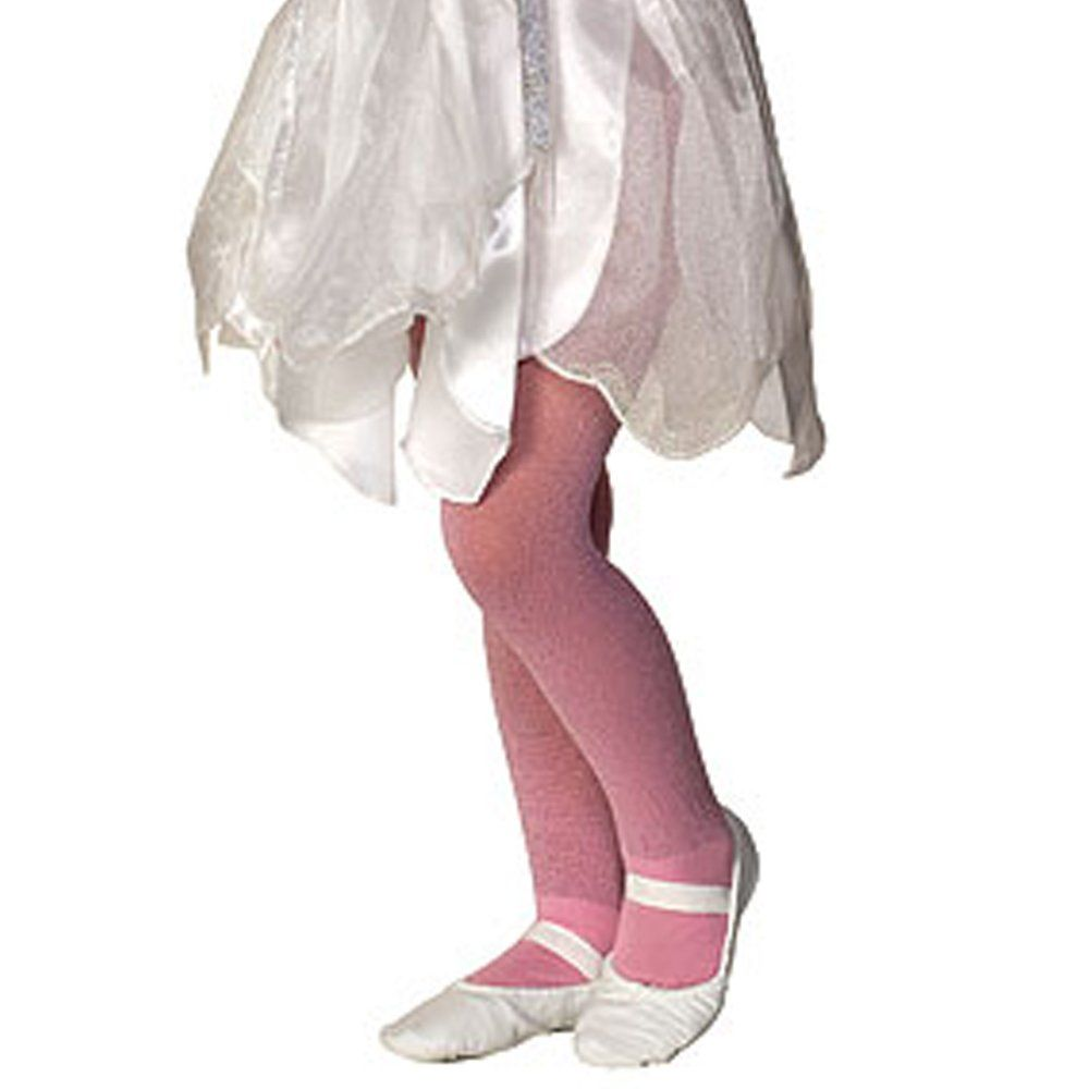 ProductDetail: Accessories Makeup: Stockings Tights Socks Name: Pink Sparkle Tights Child ID: 34568