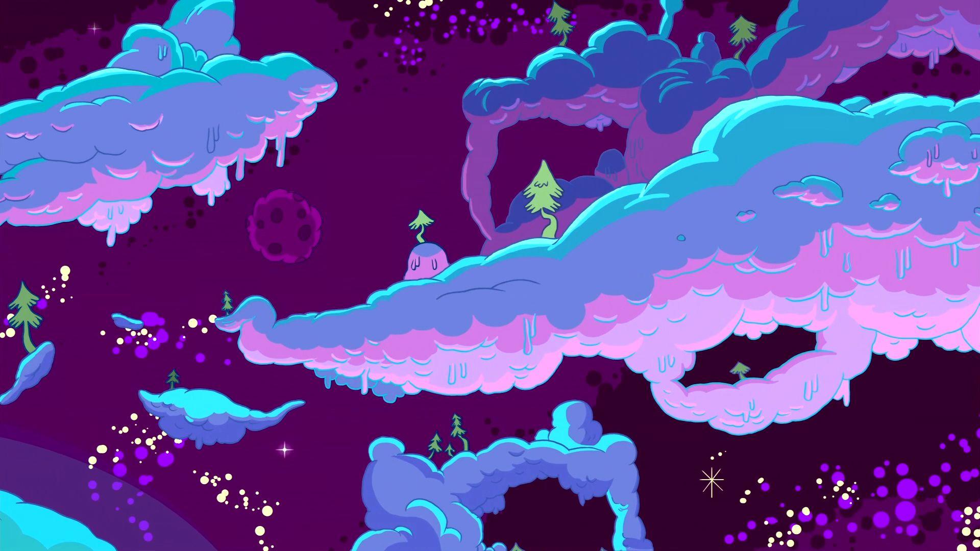S01e02 Lumpy Space Adventure Time Wallpaper Adventure Time Background Adventure Time Art