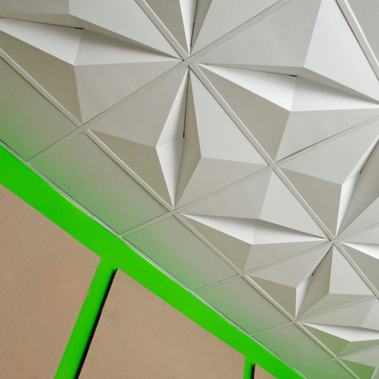 Mio crystal drop ceiling cfd at 2modern if you can 39 t - Can you wallpaper drop ceiling tiles ...