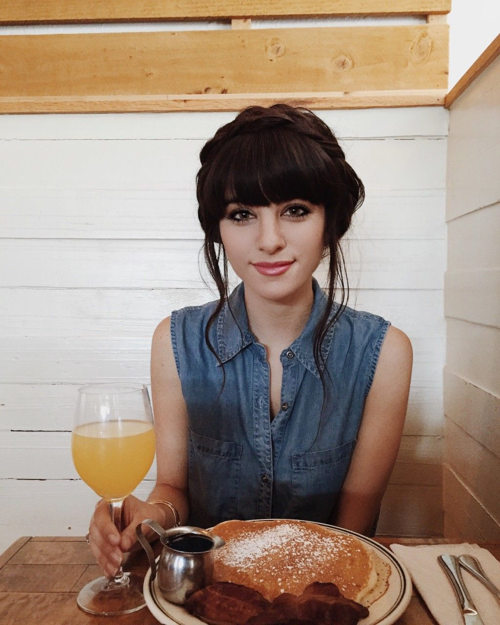 Christina from The New Darlings has the most beautiful hair!!