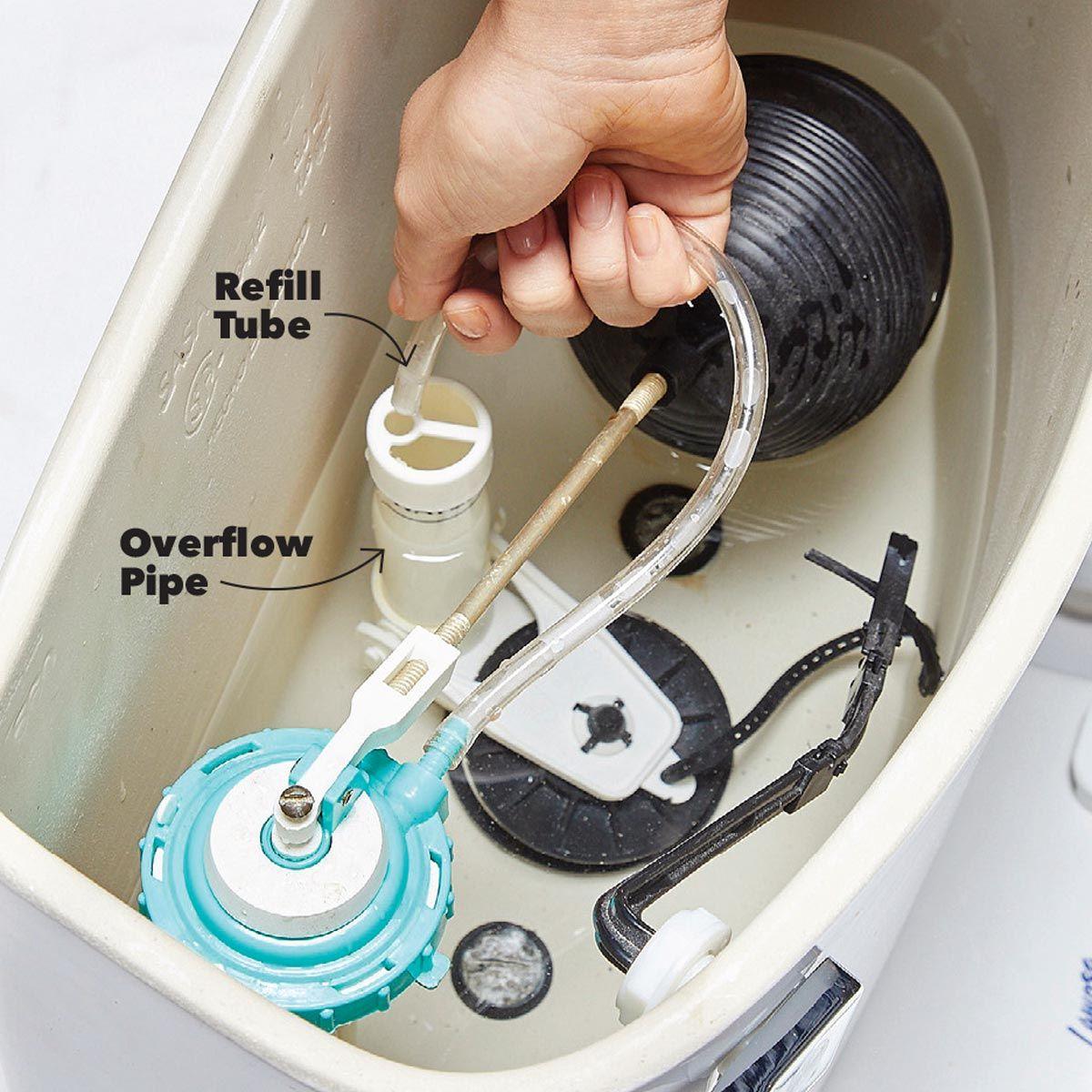9 supersimple toilet tuneups toilet simple refill