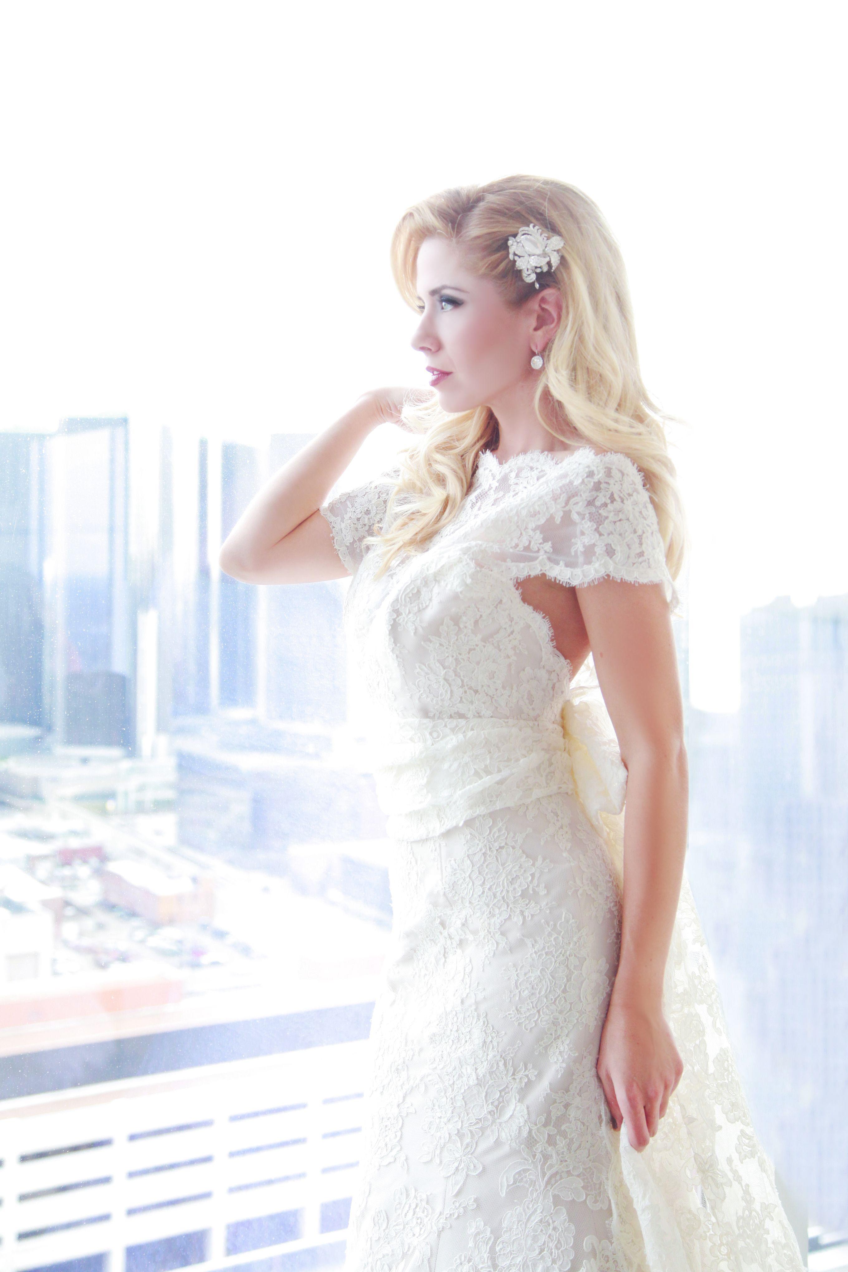 Bridal hair accessory bride wedding bridalhair