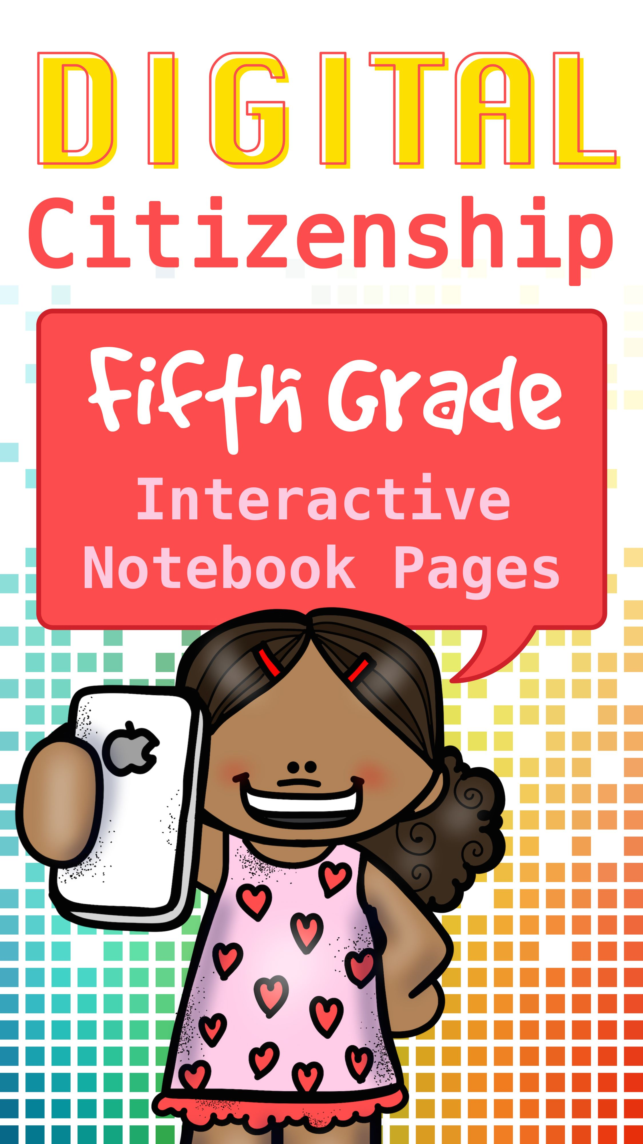 safety interactive notebook pages for 5th grade
