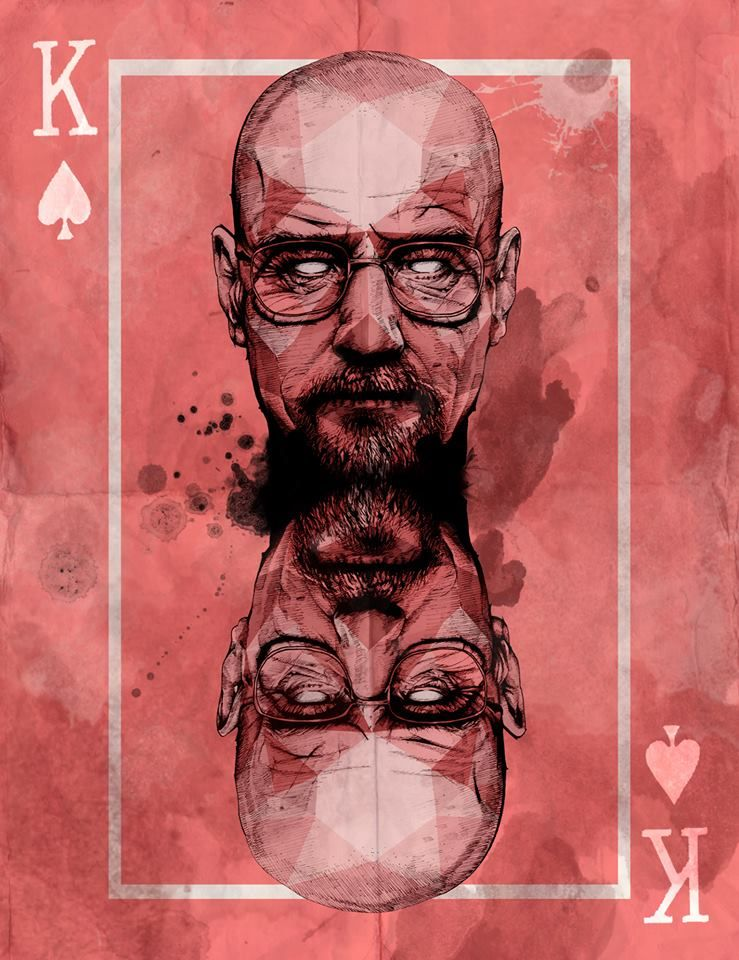 Breaking Bad TV Play Silk Poster 24x36 inches Walter White and Jesse Pinkman