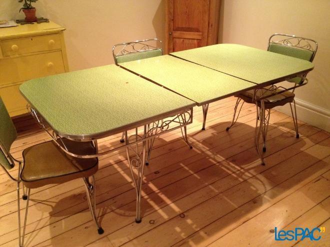 Table de salle à manger #1950 #1960 #vintage Brocantes et objets