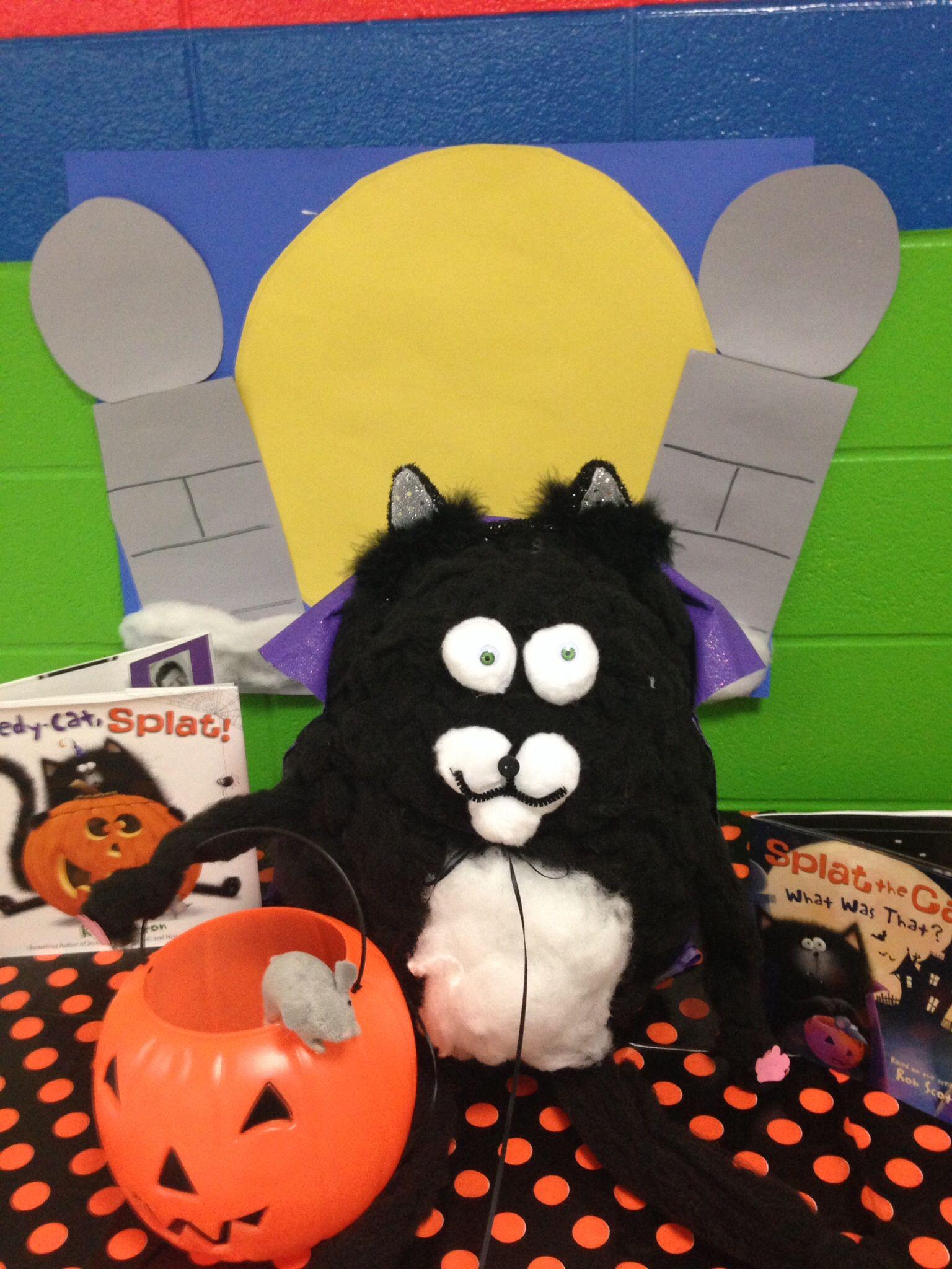 Storybook pumpkin Splat the cat Story book pumpkin