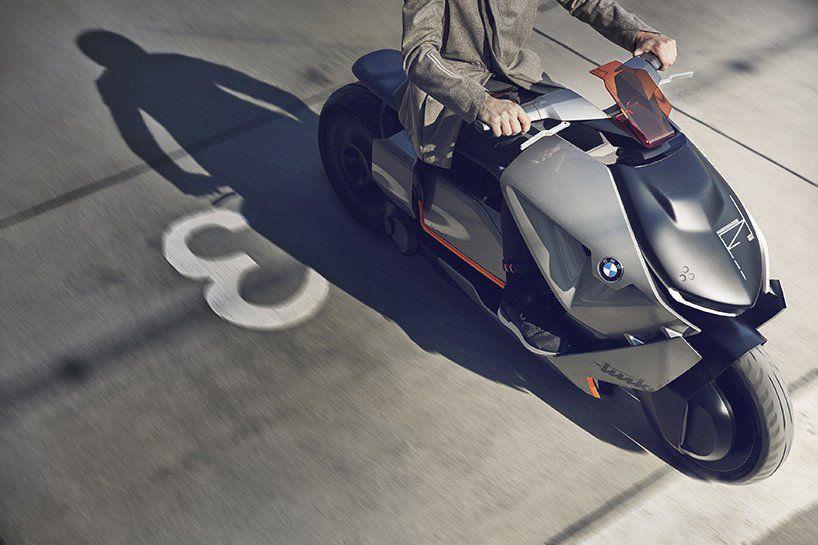 El vehículo de dos ruedas del futuro que imagina BMW es eléctrico y espectacular  http://bit.ly/2r3kuv6 http://bit.ly/2qjeFfN #CPMX8 Quiriarte.com